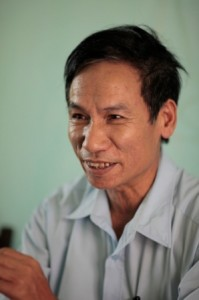 Le Ngoc Thach. Photo by Chau Doan/Oxfam America