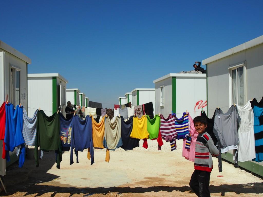 Zaatari camp, Jordan