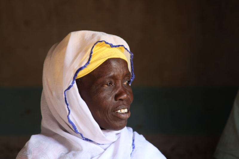 Karyalla Ndao is one of the elders in Kalbiron. Photo by Chris Hufstader/Oxfam America