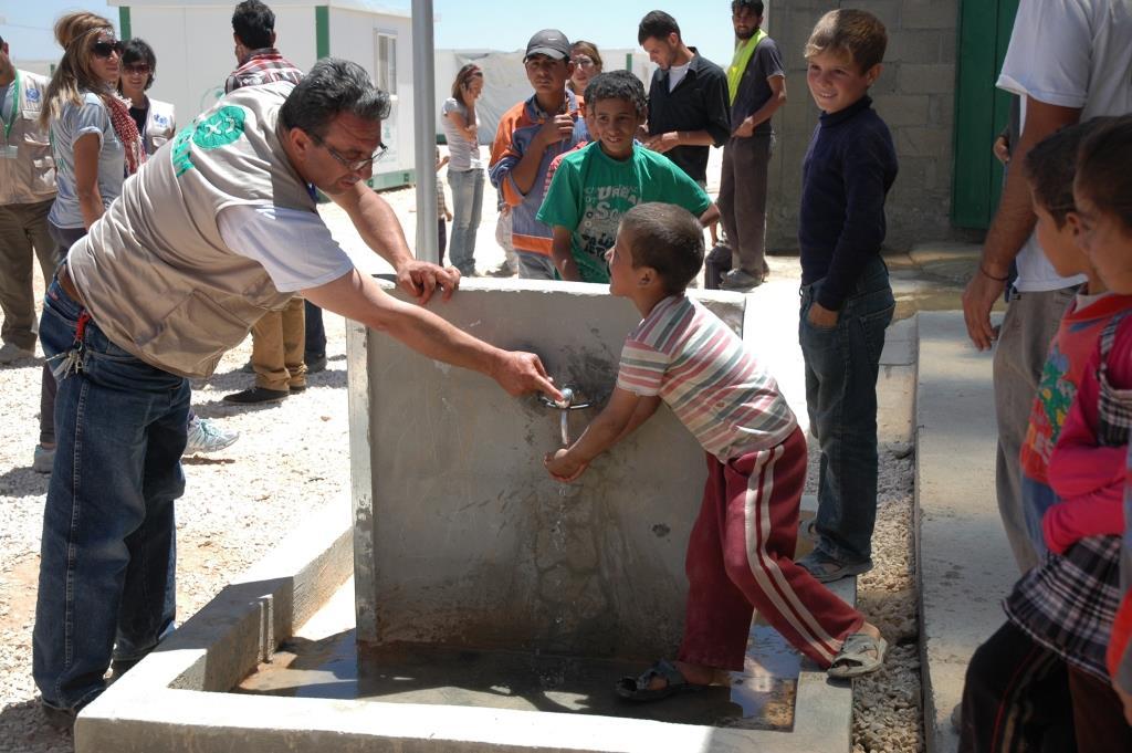zaatari wash