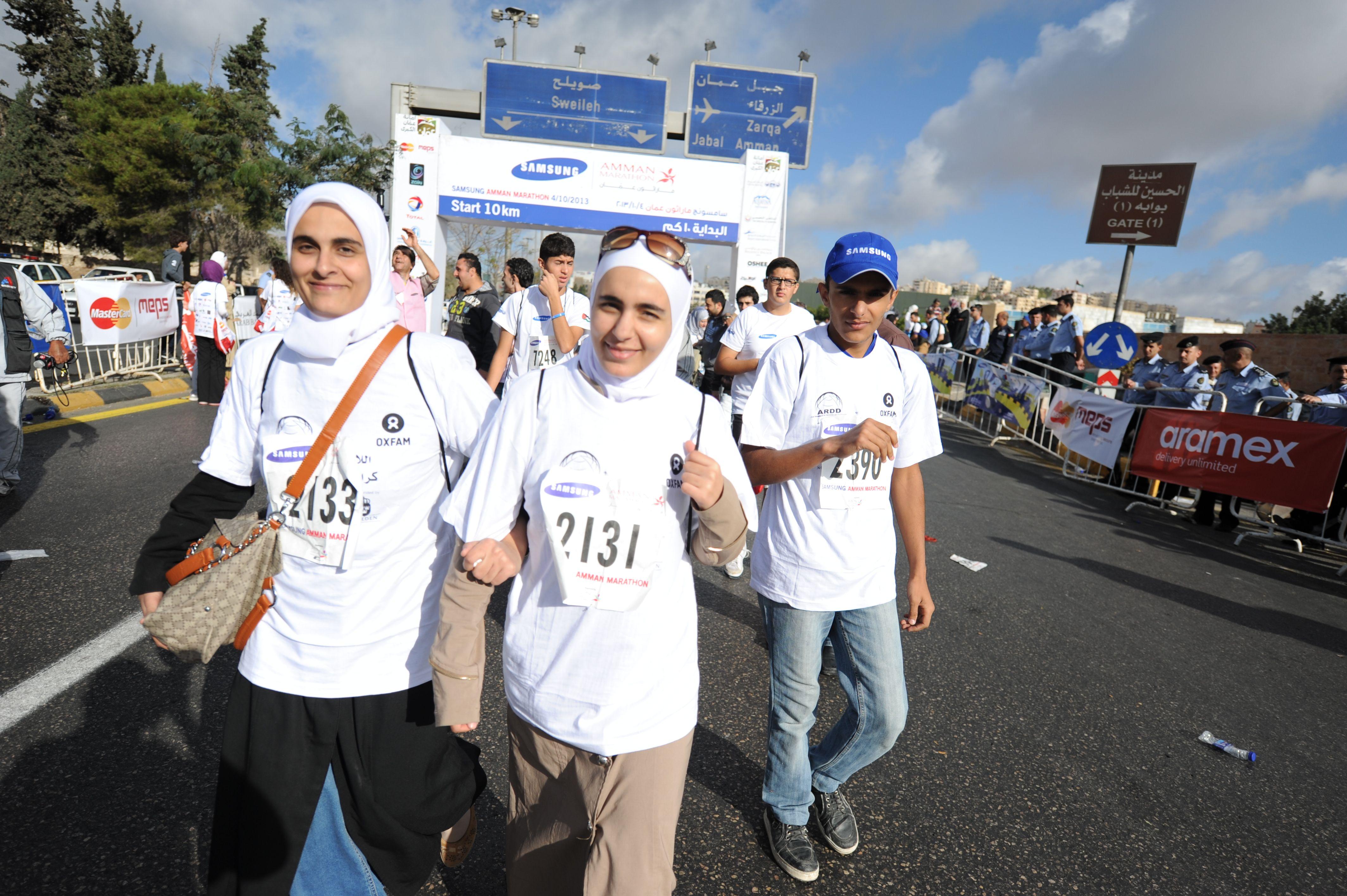 Oxfam For Syria Jordan Syria Racing Team