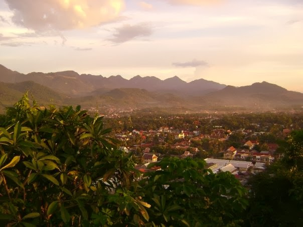 A view of Luang Prabang. Photo by Gerard Dougher