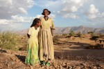 Medhin Reda and her daughter in the village of Adi Ha, Ethiopia. Photo: Coco McCabe / Oxfam America