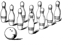 In aid reform, as in bowling, it's all about the follow-through. Image from FCIT: http://etc.usf.edu/clipart/