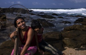 As people and communities around the world, including the people in Sri Lanka pictured here, are dealing with the reality of climate change, the US has resisted international and unilateral efforts to limit emissions from airlines. Photo by Atul Loke/Panos for Oxfam America.