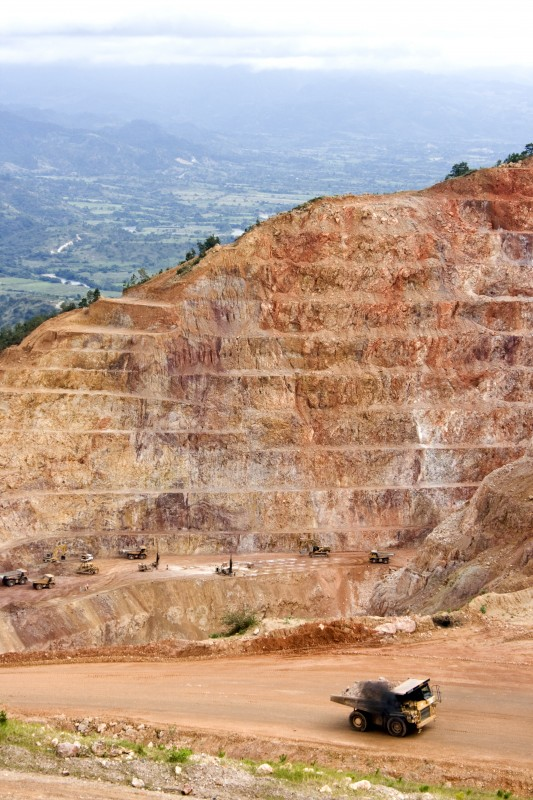 San Andres gold mine in Honduras