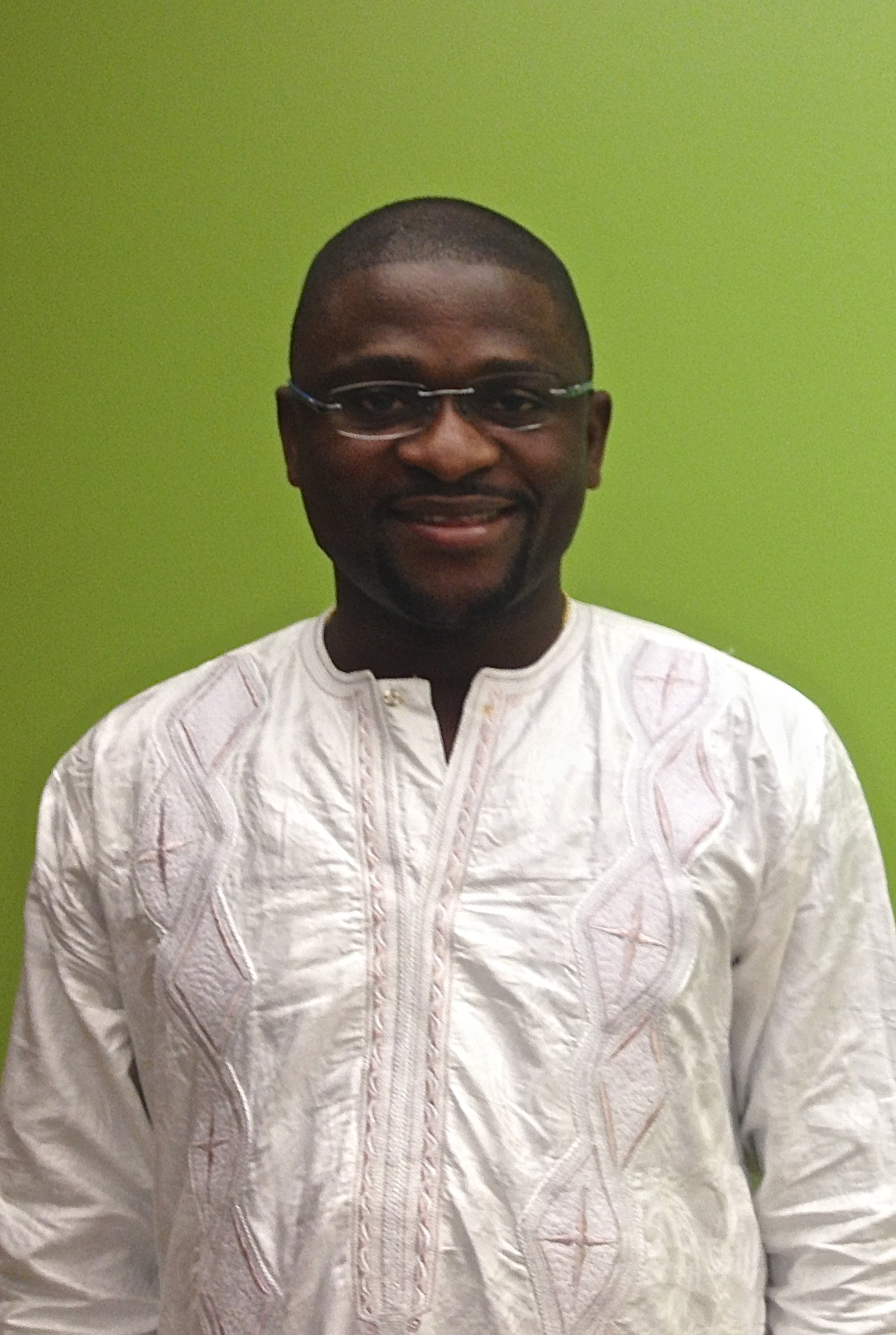 Emmanuel Saffa Abdulai, founder and executive director of the Society for Democratic Initiatives in Sierra Leone