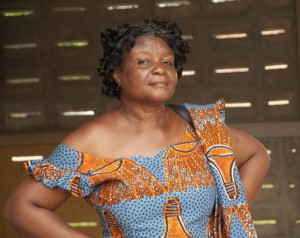 """Hannah Owusu-Koranteng, Associate Executive Director of  Wacam said at the conference: """"We have never been part of decisions of whether to mine or not to mine."""" Photo: Jeff Deutsch / Oxfam America"""