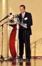 Joel Wiegert, Economic Chief of the US Embassy in Ghana, speaking at the conference.