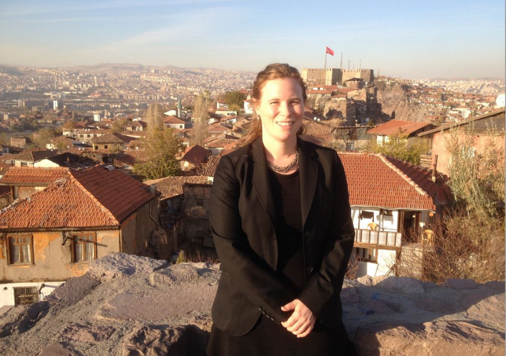 Oxfam's Sarah Kalloch visited Turkey last month with the Truman National Security Project and the Rumi Forum.