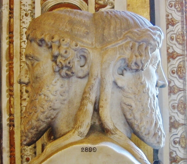Traditionally a time for reflection, the month of January takes its name from the ancient Roman god Janus, who had two faces, one looking forward and one looking back. Photo: http://bit.ly/1cUUuS2