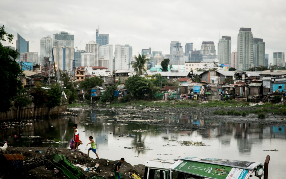 Tondo slum in Manila, Philippines, 2014. Photo: Dewald Brand/Miran for Oxfam