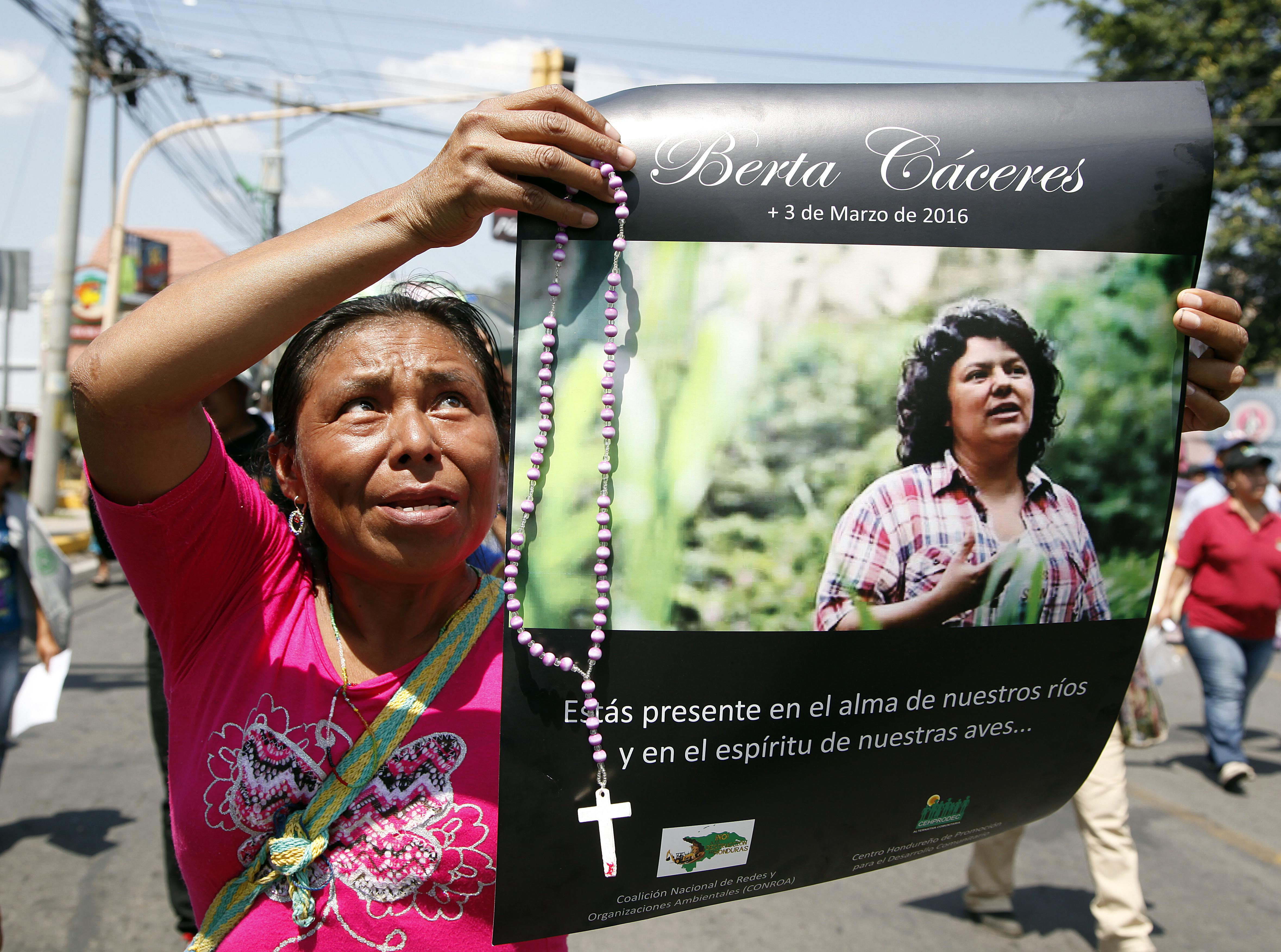 34c8304326a5 Our pledge—to speak out and defend the political spaces being claimed by  women and men like Berta Cáceres and Nelson García