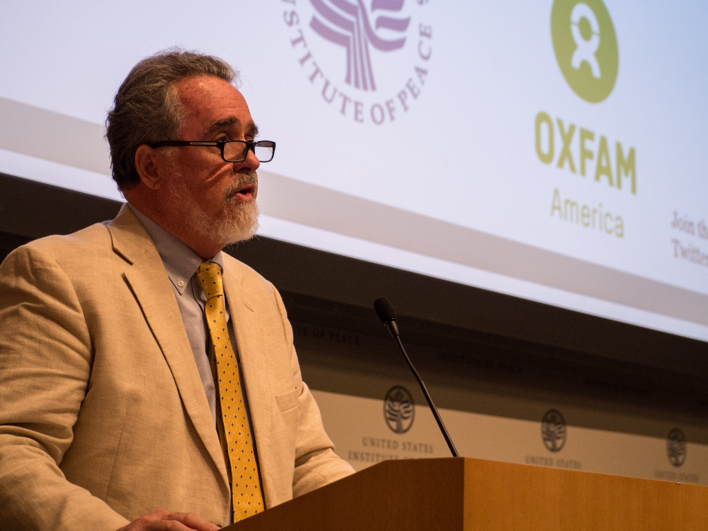 """""""The system is in need of a radical overhaul."""" -- Ray Offenheiser, President of Oxfam America (Photo: Elizabeth Stevens / Oxfam America)"""