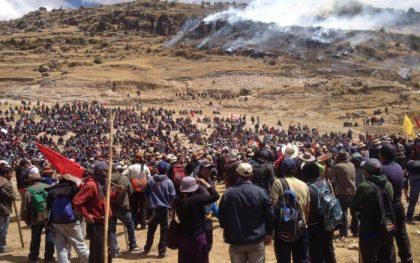 Photo: Observatorio de Conflictos Mineros en el Perú