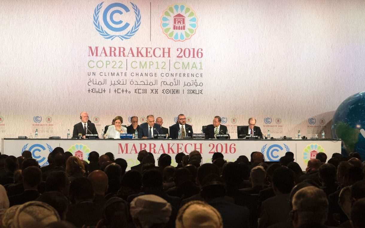 Marrakesh climate meeting closes under Trump shadow