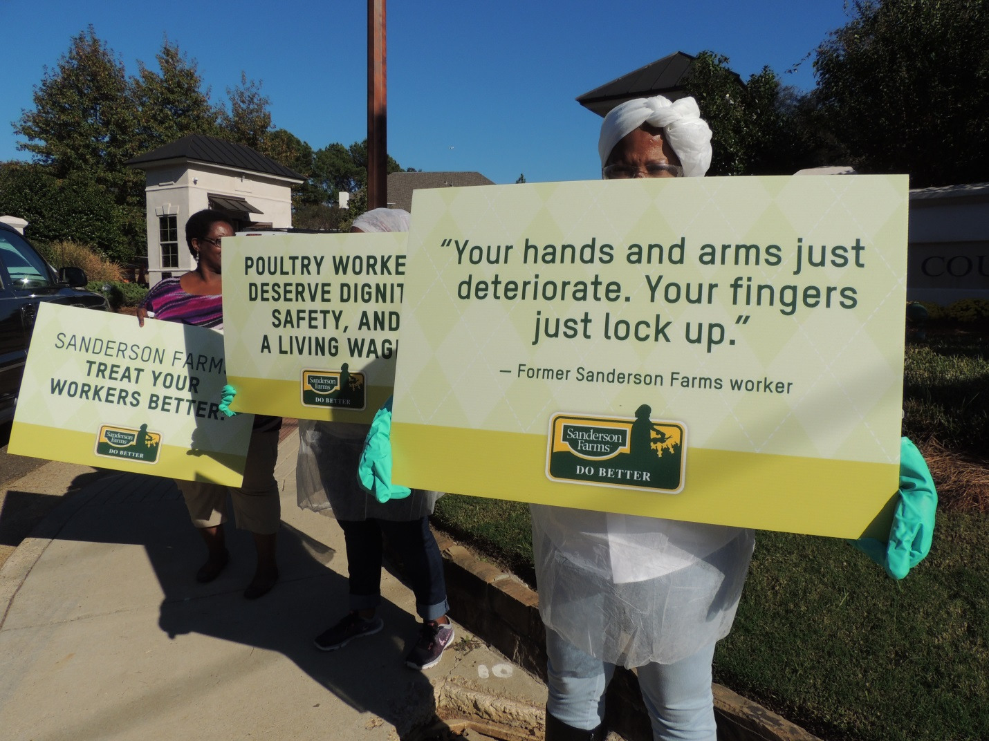 Raising Worker Voice At Big Poultry Shareholder Meetings