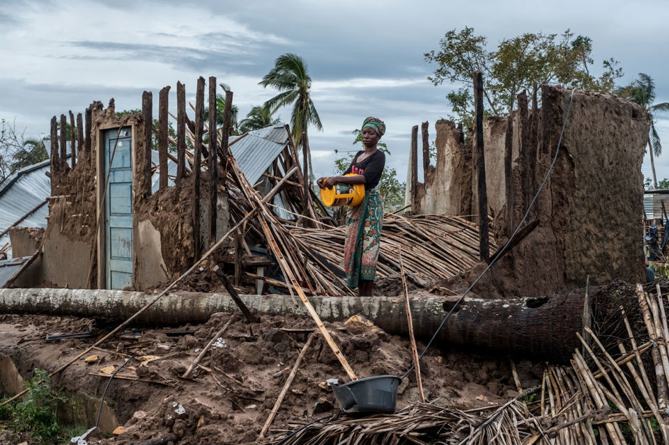 mozambique cyclone idai and kenneth survivors