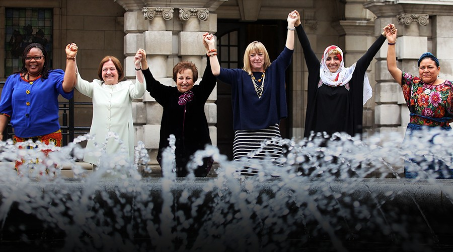 Three Nobel peace laureates join Canadian women thought-leaders in Ottawa for an inspiring pre-federal election conversation on the potential for feminist ideas and approaches to transform foreign policy in 2015.