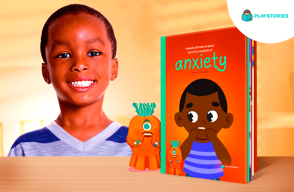 Personalized Book - Little Monster of Anxiety