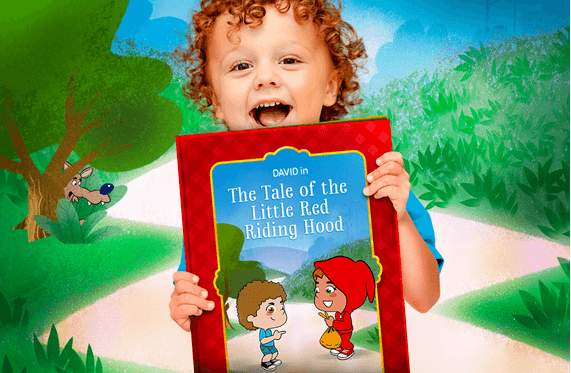 Little red riding hood personalizedbook