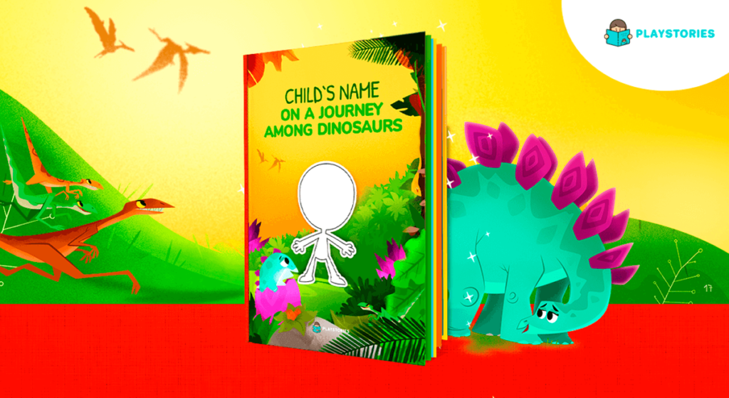 Dinosaur personalized book