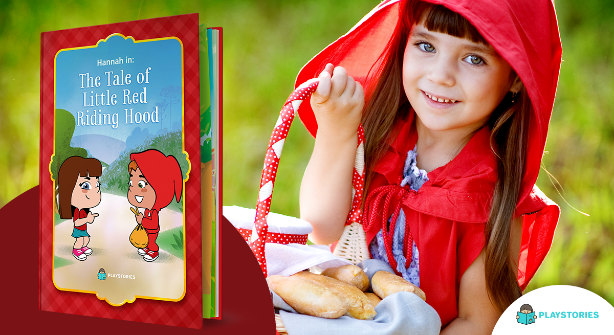 Little red riding hood personalized book