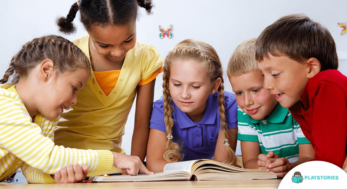 Reading classic books for children (1)