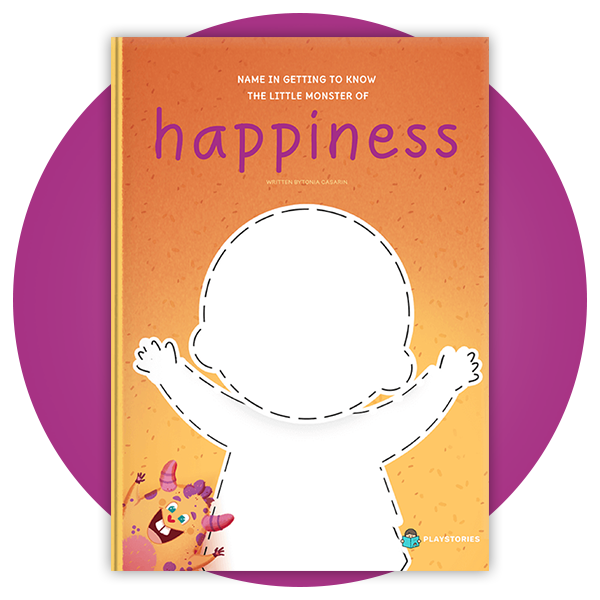 Personalized book - Happiness Monster