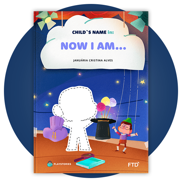 Personalized Book - Now I am