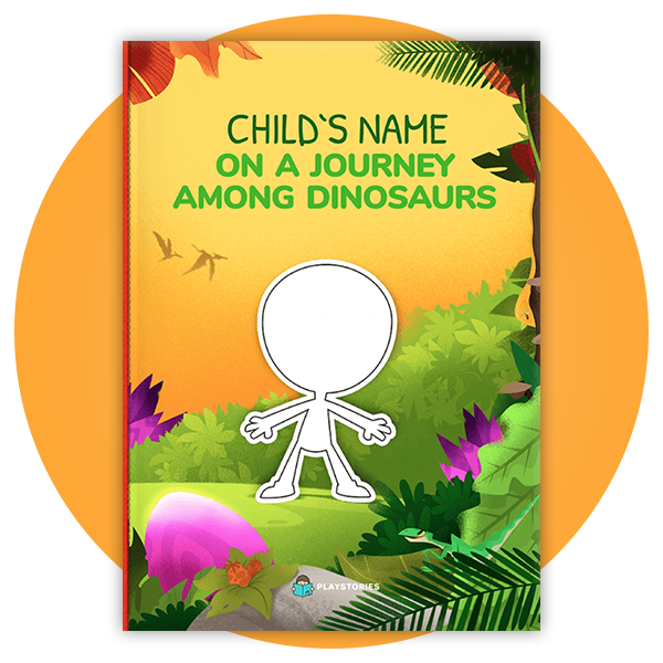 Personalized Book - Dinosaur