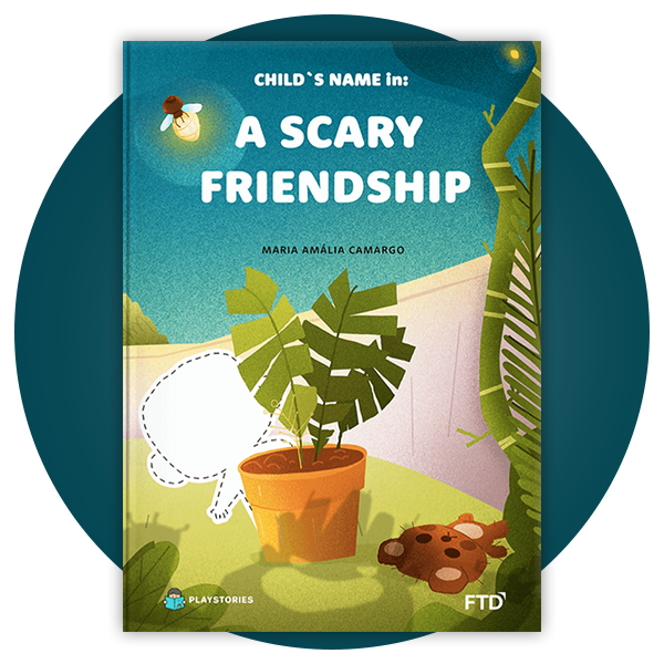 Personalized Book - Scary Friendship