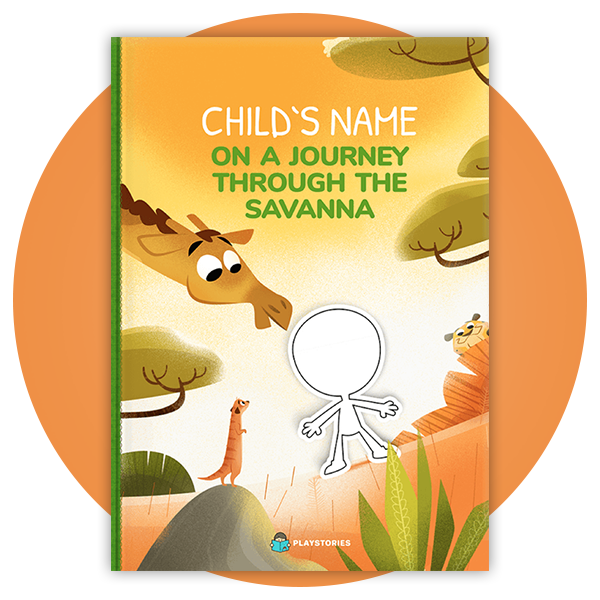Personalized Book - Savannah