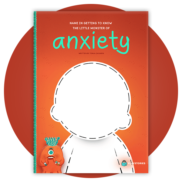 Personalized Book - Anxiety