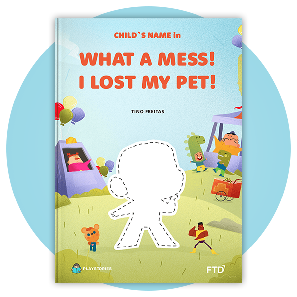 Personalized Book - Lost My Pet