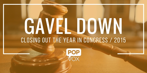 POPVOX Gavel Down 2015