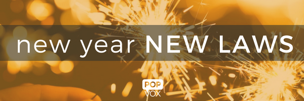 POPVOX New Year New Laws 2017