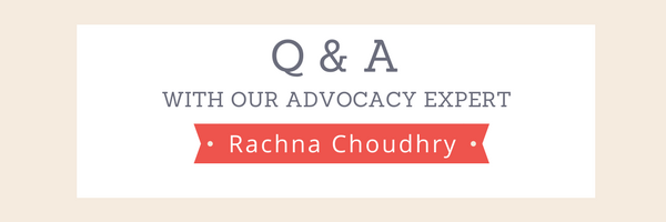 Q & A with advocacy expert Rachna Choudhry POPVOX