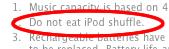 [2] Do not eat iPod shuffle.