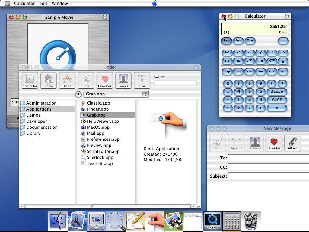 Mac OS X DP3