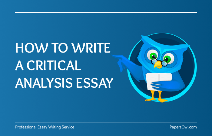 How To Write A Critical Analysis Essay  Papersowlcom How To Write A Critical Analysis Essay By Papersowl Blog