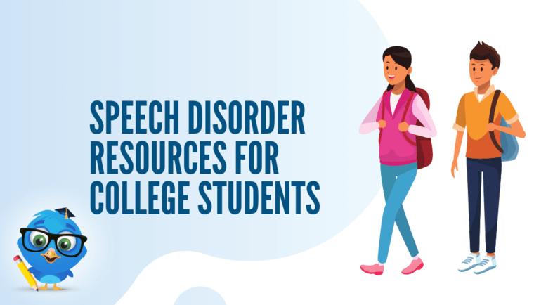 Speech Disorder Resources
