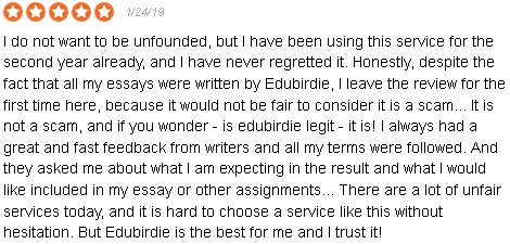 honest edubirdie review best quality and legit online   uk  are all good reviews fake though of course not we also make mistakes we  admit it but the thing is were ready to take full responsibility