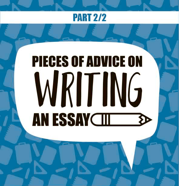 advice on writing essay infographics