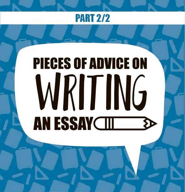 advice on writing essay infographics