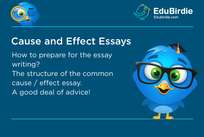 How To Write A Cause And Effect Essay  Study Guide  Edubirdiecom Some Students Confuse Them With Reactionresponse Essay Therefore  Students Should Understand How To Write The Right Paper In Fact A Cause  And Effect