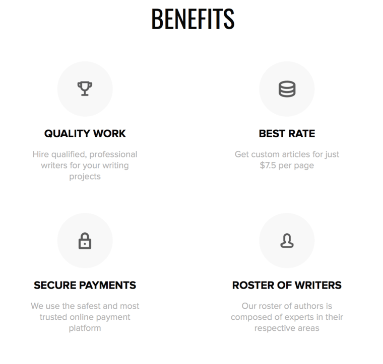 custom benefits available at Eduzaurus