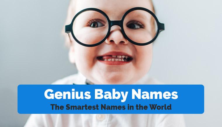 Genius Baby Names