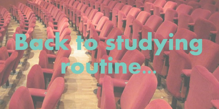 Studying Routine