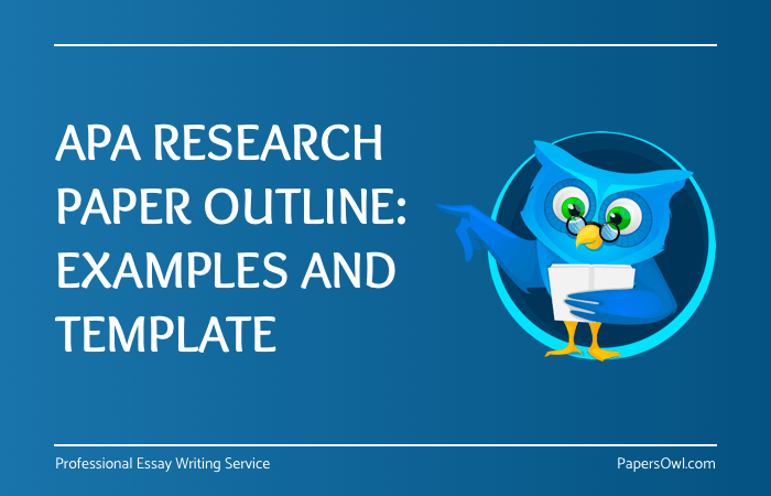 sample outline research paper apa style